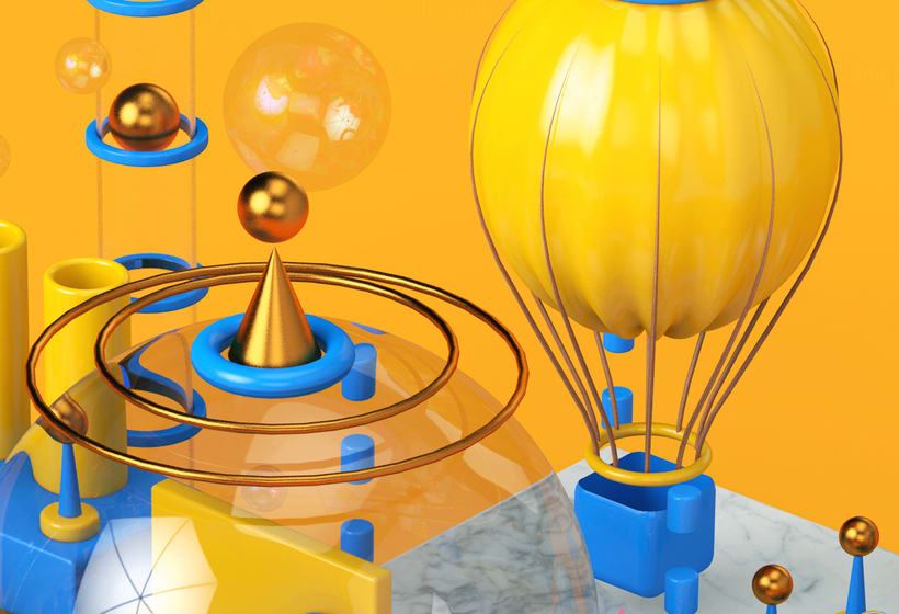 Mi project in Prototipado y visualizaciones de producto en Cinema 4D course 8
