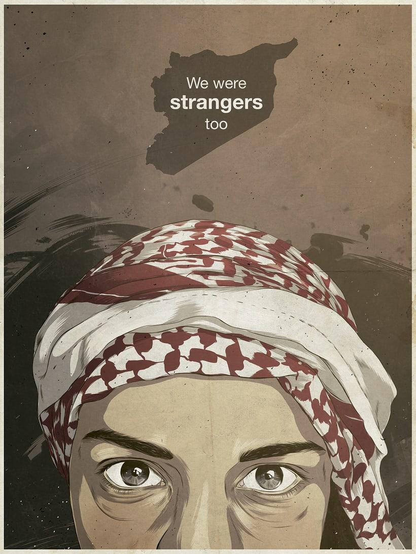 We were strangers too 1