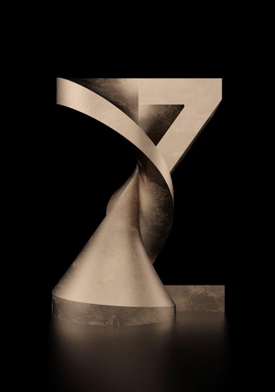 Tipografía Rotation 27