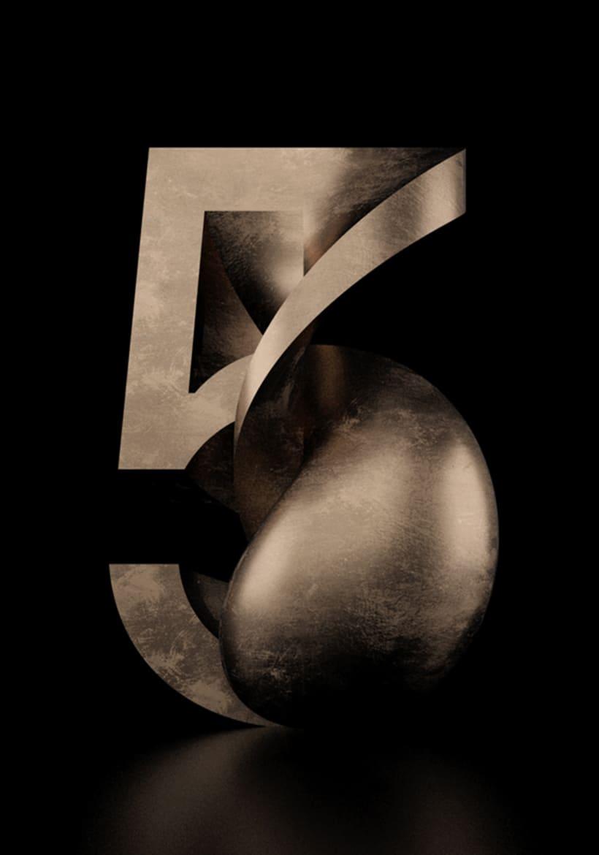 Tipografía Rotation 34