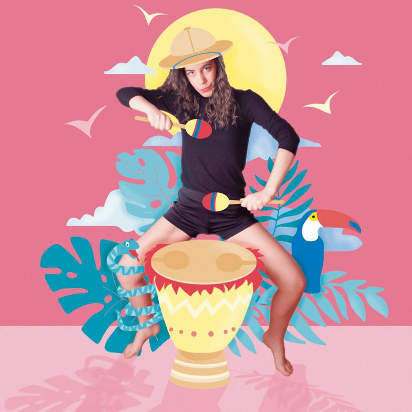 Mi Proyecto del curso: Ilustración exprés con Illustrator y Photoshop 0