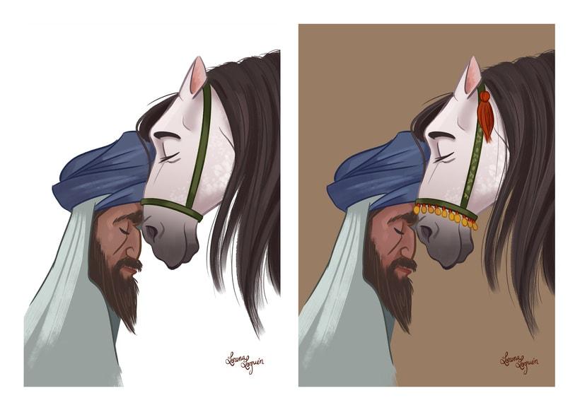 Abderramán, Príncipe Omeya 16