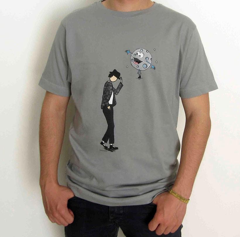 Vendo camisetas, sueltas o por lote (Diseños propios) 1