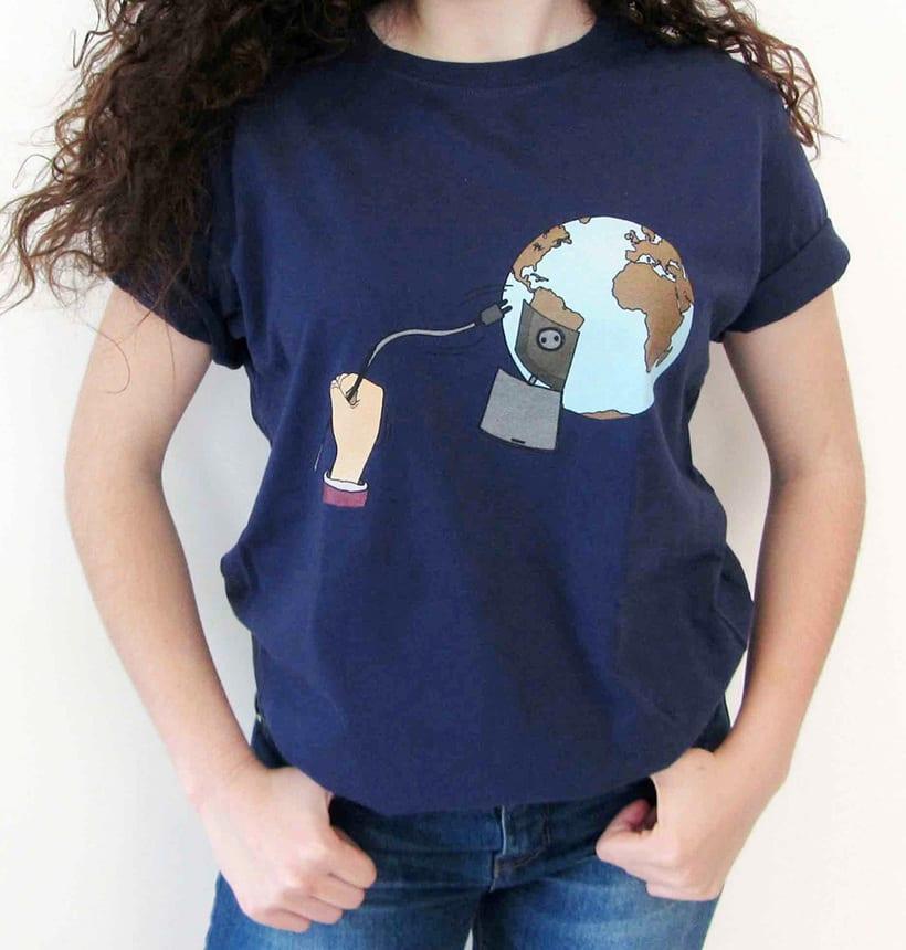 Vendo camisetas, sueltas o por lote (Diseños propios) 2