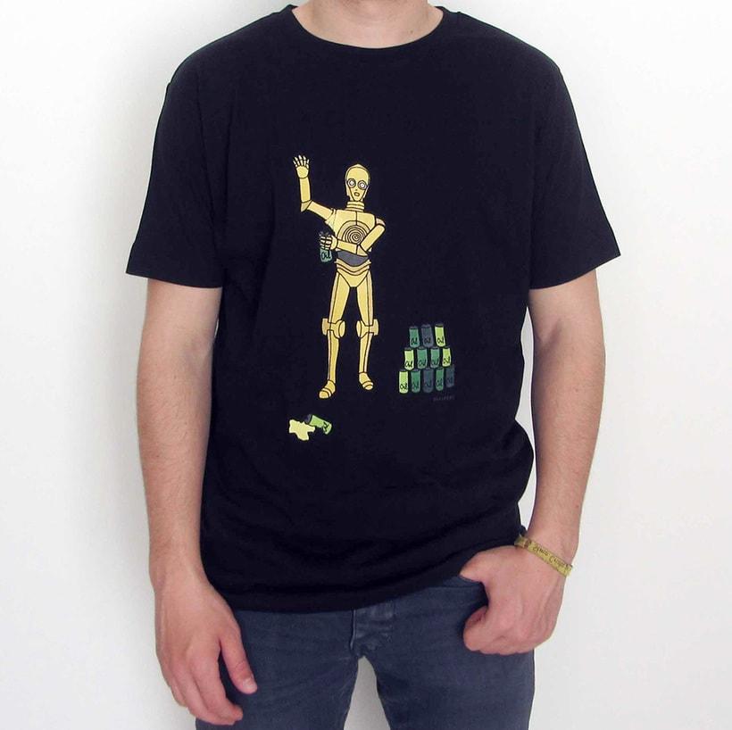 Vendo camisetas, sueltas o por lote (Diseños propios) 4