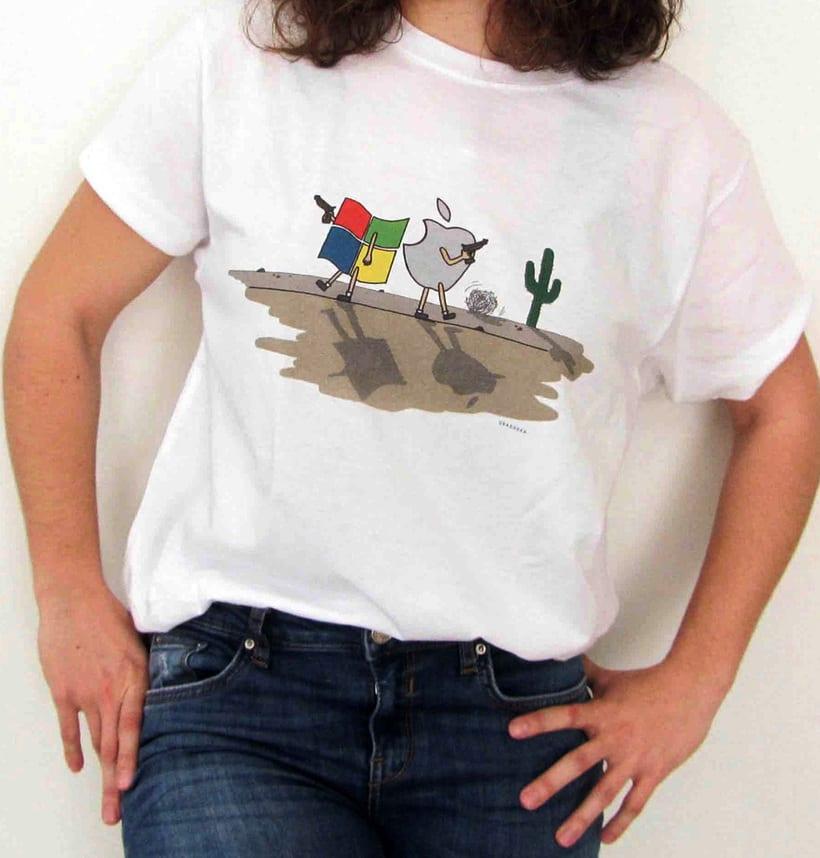 Vendo camisetas, sueltas o por lote (Diseños propios) 5