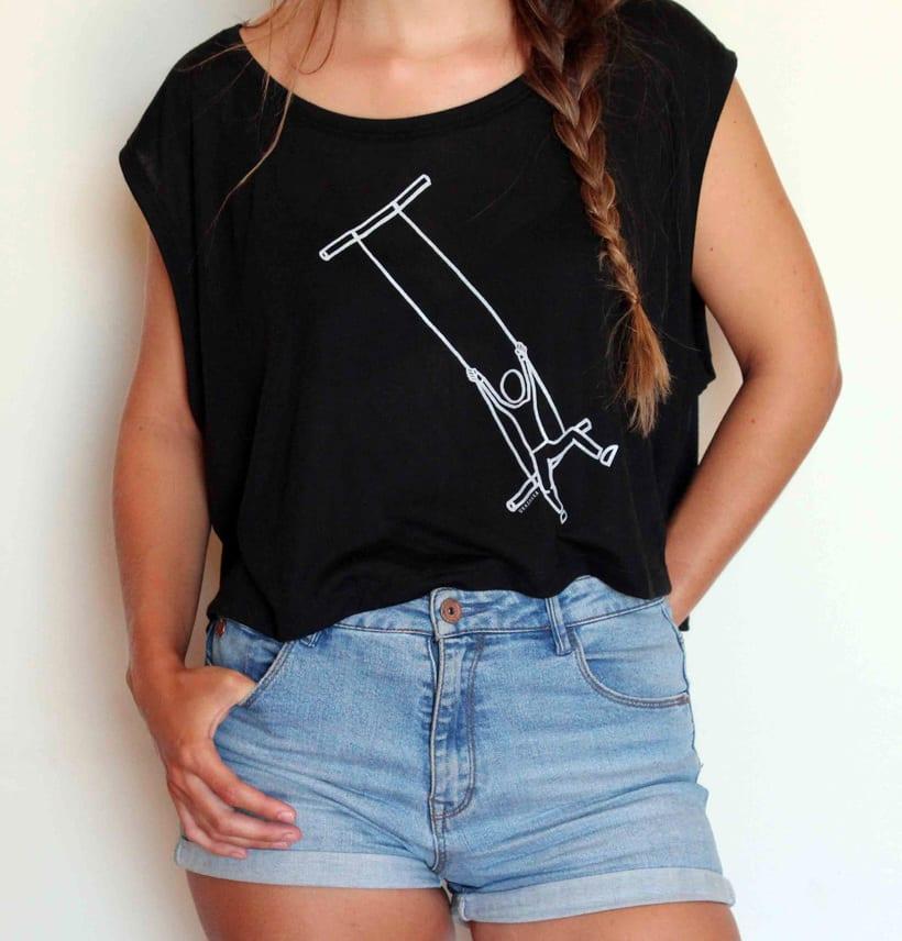 Vendo camisetas, sueltas o por lote (Diseños propios) 6