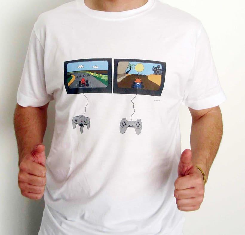 Vendo camisetas, sueltas o por lote (Diseños propios) 7
