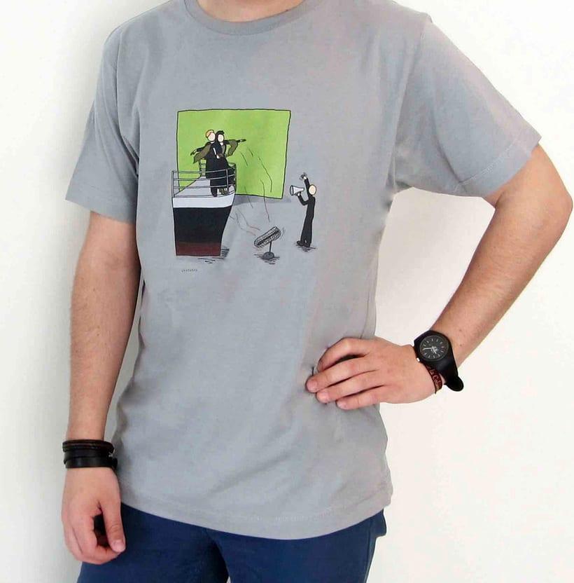 Vendo camisetas, sueltas o por lote (Diseños propios) 8
