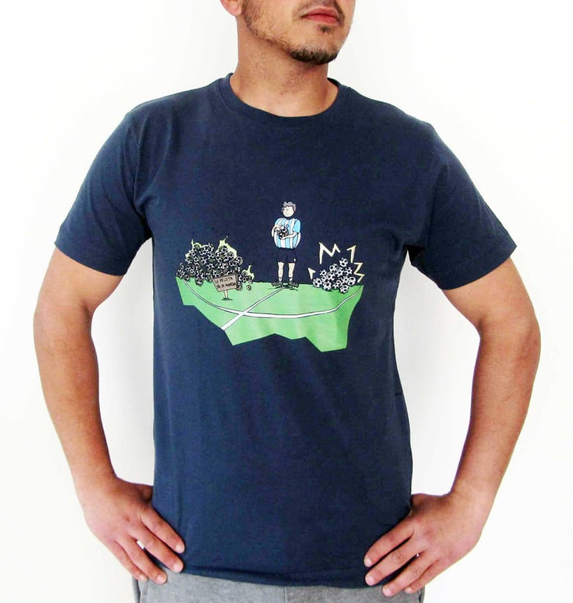 Vendo camisetas, sueltas o por lote (Diseños propios) 9