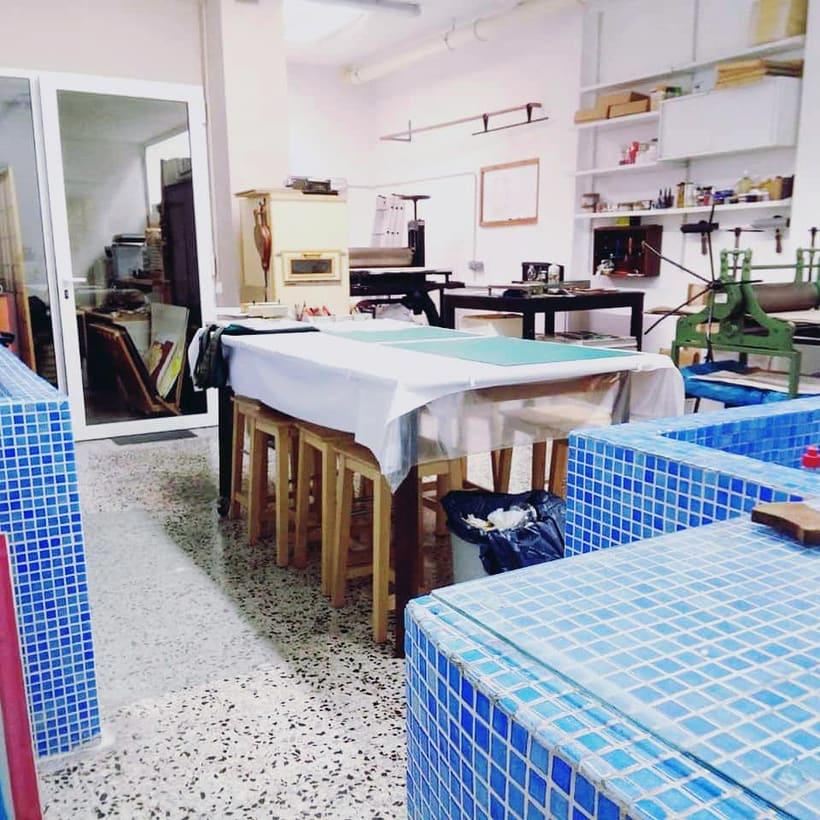 Buscamos artistas para compartir espacio en Barcelona (Eixample) 3