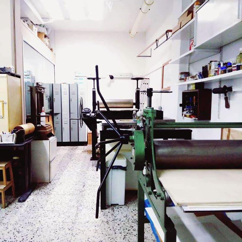 Buscamos artistas para compartir espacio en Barcelona (Eixample) 4