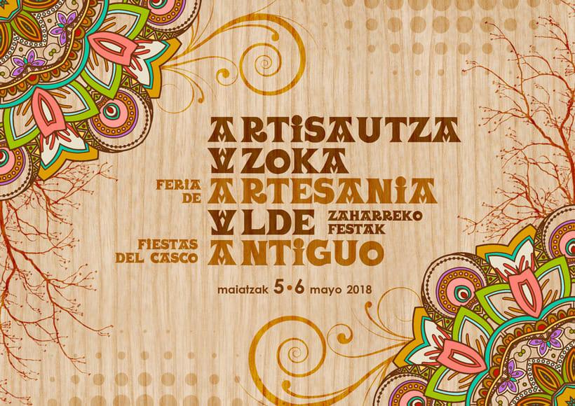 Dípticos y trípticos promocionales para días festivos en Alsasua · Navarra 4