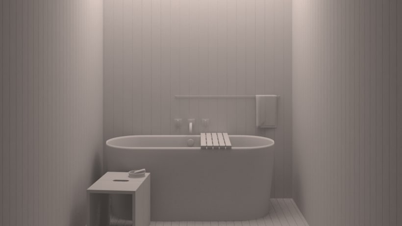Baño de madera -1