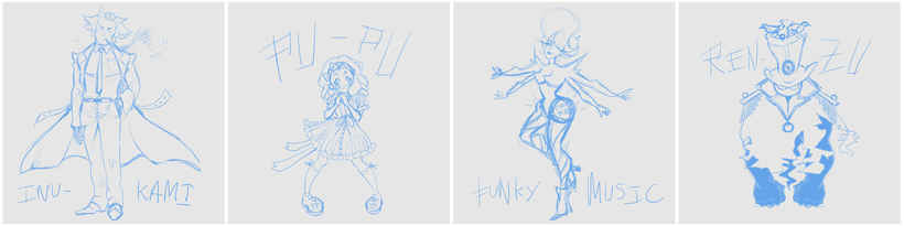 Diseño de Personajes OCs 5