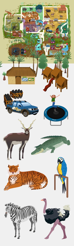 Ilustraciones para Rio Safari Elche 3
