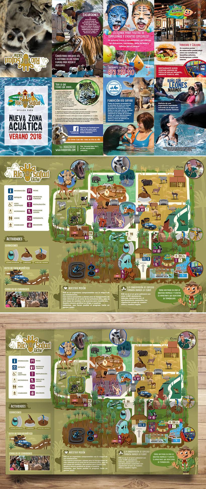 Ilustraciones para Rio Safari Elche 4