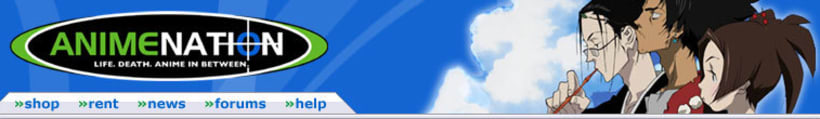 Web Banner for Anime nation (design) -1