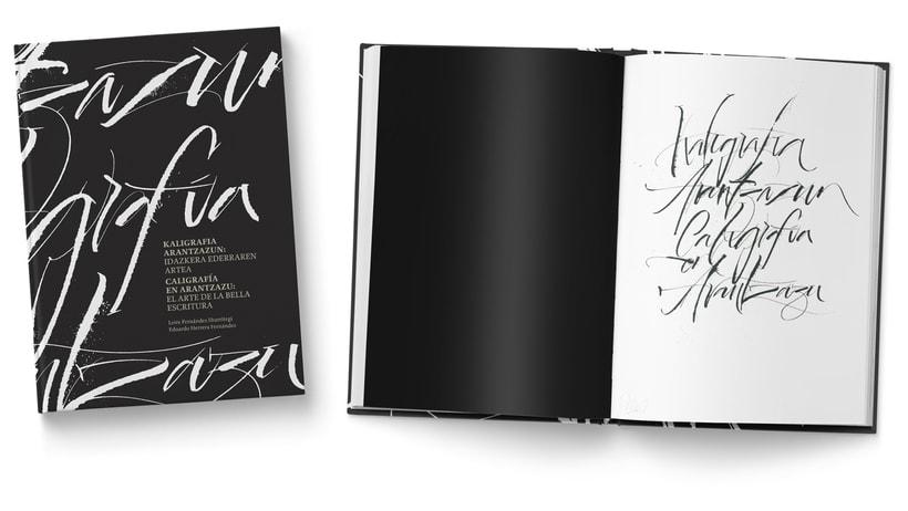 Libro «Caligrafía en Arantzazu: el arte de la bellas escritura»  0