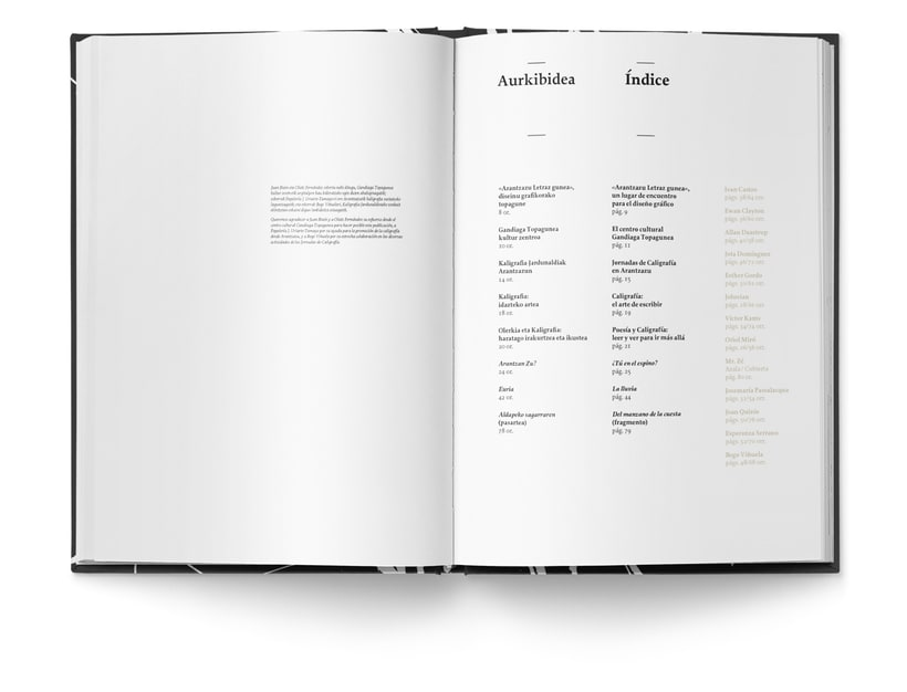 Libro «Caligrafía en Arantzazu: el arte de la bellas escritura»  2