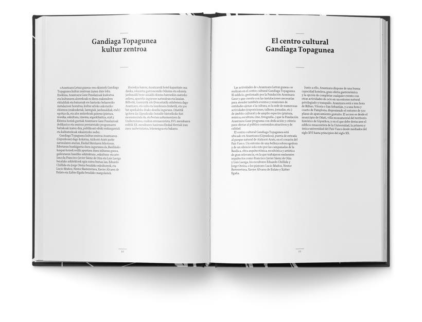 Libro «Caligrafía en Arantzazu: el arte de la bellas escritura»  3