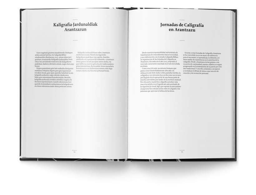 Libro «Caligrafía en Arantzazu: el arte de la bellas escritura»  5
