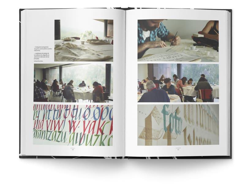 Libro «Caligrafía en Arantzazu: el arte de la bellas escritura»  6