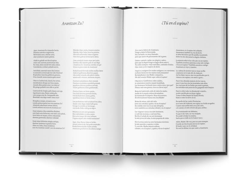 Libro «Caligrafía en Arantzazu: el arte de la bellas escritura»  7