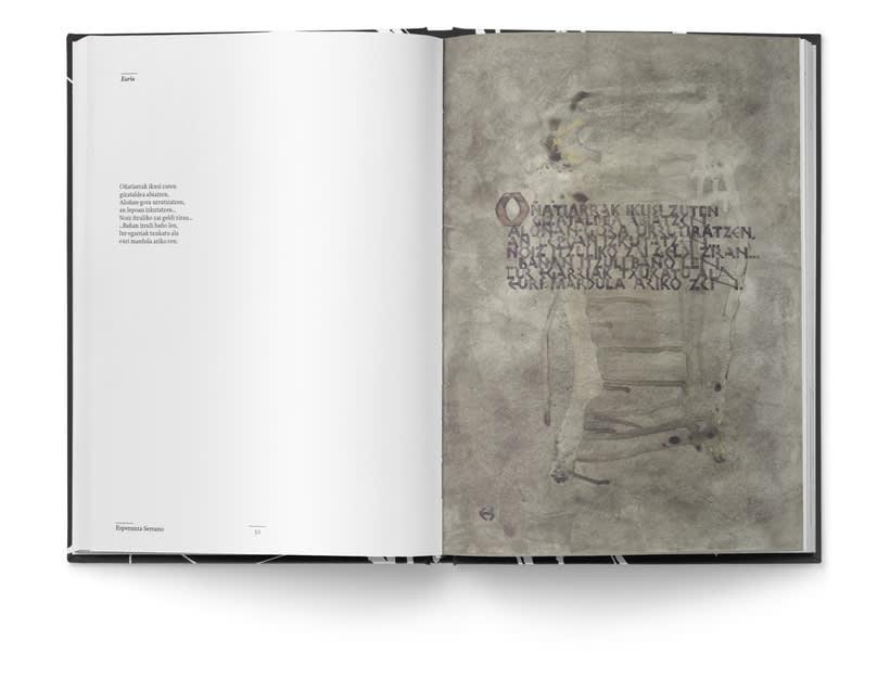 Libro «Caligrafía en Arantzazu: el arte de la bellas escritura»  10