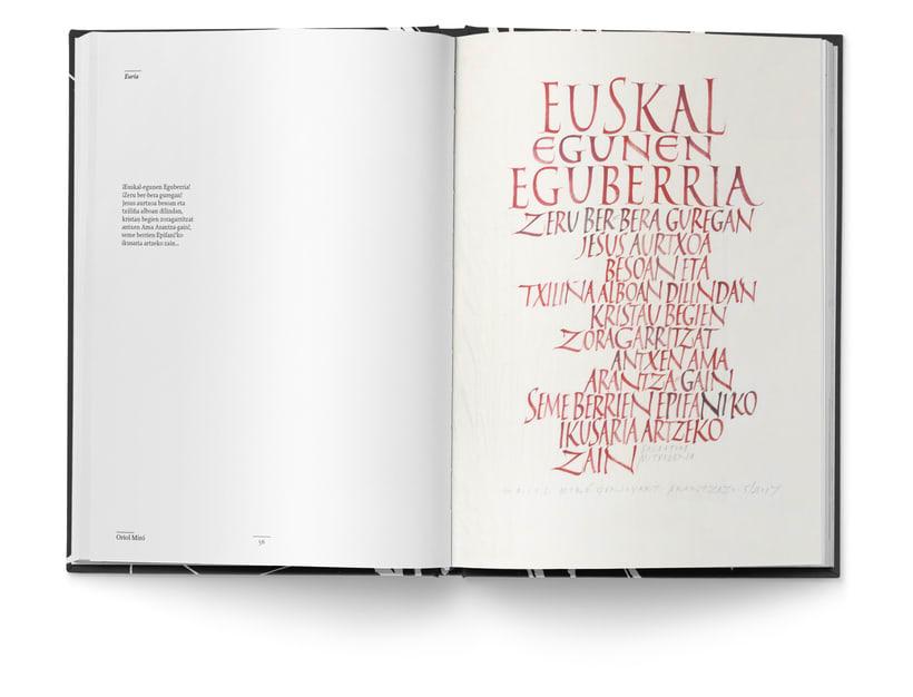Libro «Caligrafía en Arantzazu: el arte de la bellas escritura»  12