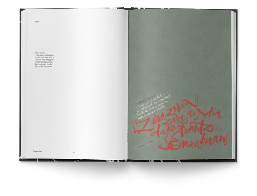Libro «Caligrafía en Arantzazu: el arte de la bellas escritura»  13