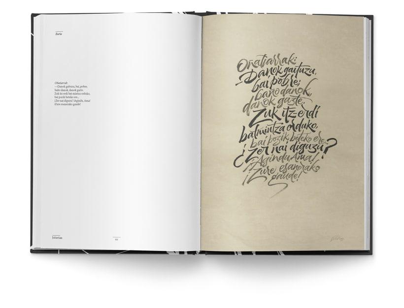 Libro «Caligrafía en Arantzazu: el arte de la bellas escritura»  14