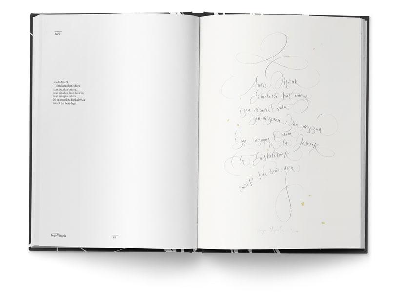 Libro «Caligrafía en Arantzazu: el arte de la bellas escritura»  15