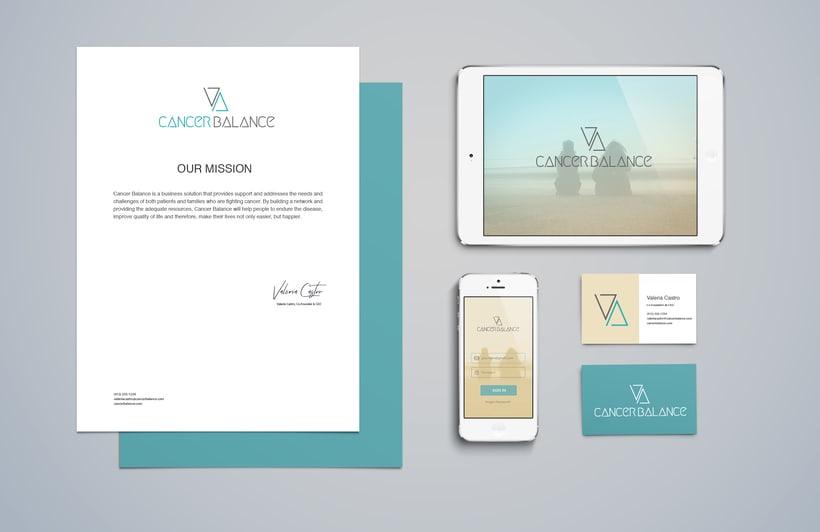 Cancer Balance Brand Identity 2