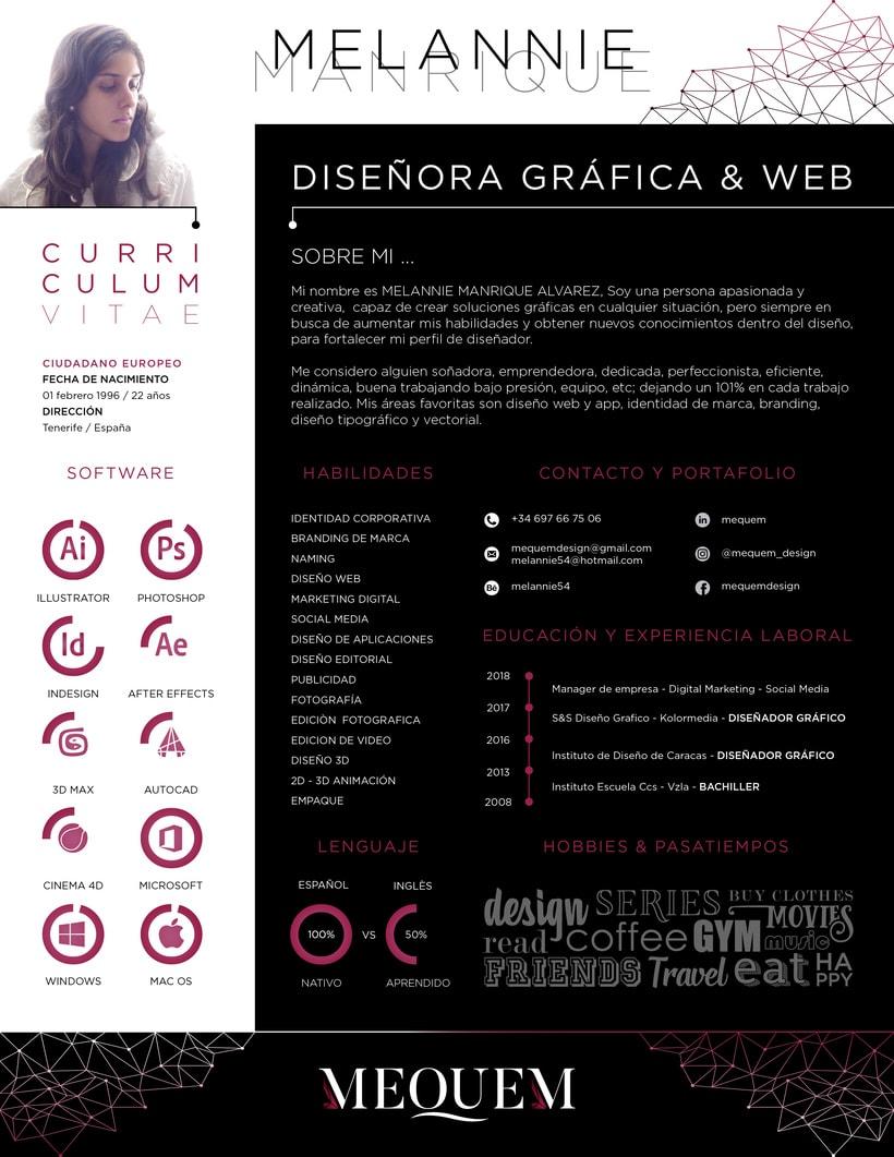 CV Graphic Designer & Web 0