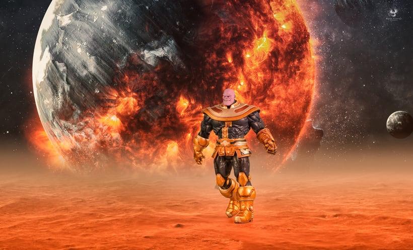 Thanos   El Titán Loco 0