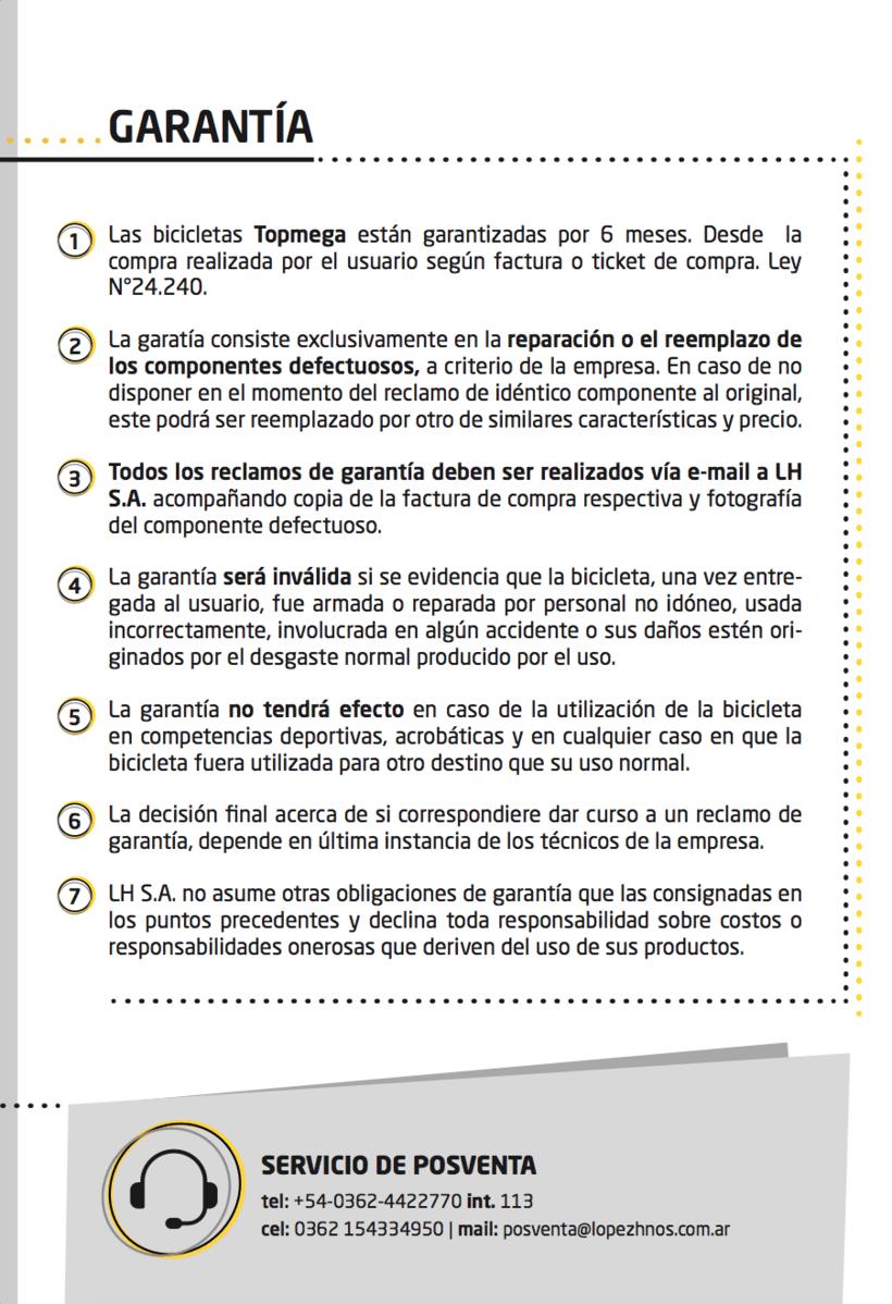 Manual de Usuario Topmega Folding 6