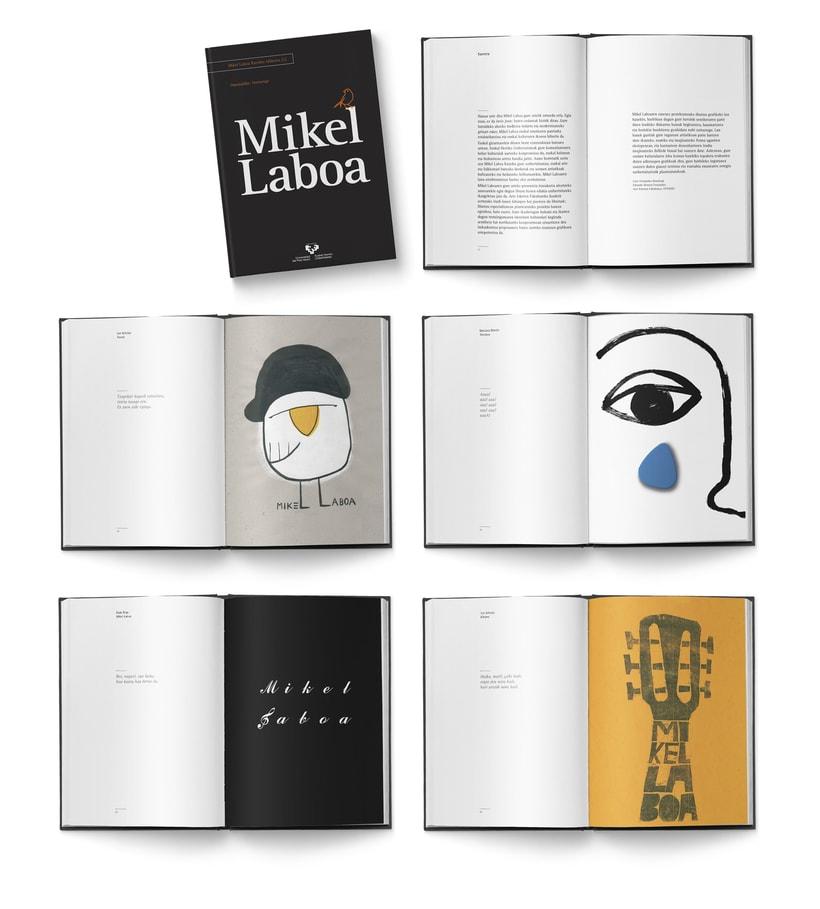 Libro «Mikel Laboa» 0