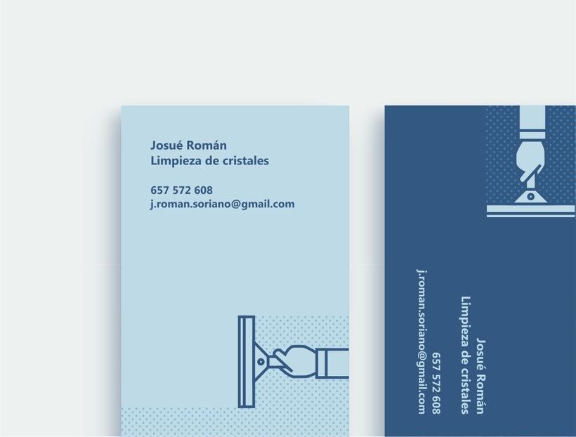 Josué Román | Tarjetas de visita 2