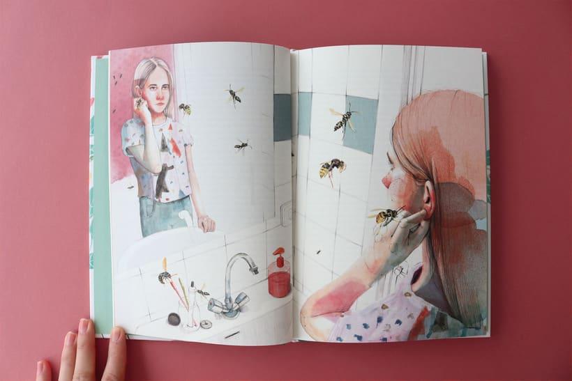 """Ilustración para el libro """"El futuro es femenino"""" Ed. Penguin Random House. Escrito por Sara Cano 0"""