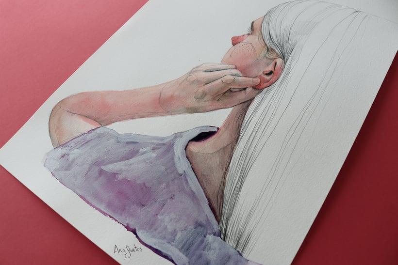 """Ilustración para el libro """"El futuro es femenino"""" Ed. Penguin Random House. Escrito por Sara Cano 2"""