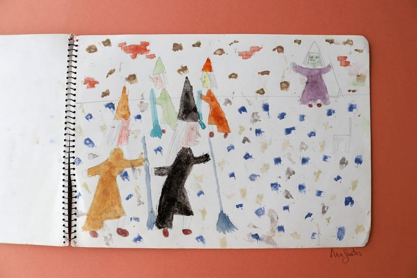 """Ilustración para el libro """"El futuro es femenino"""" Ed. Penguin Random House. Escrito por Sara Cano 3"""