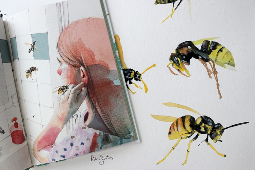 """Ilustración para el libro """"El futuro es femenino"""" Ed. Penguin Random House. Escrito por Sara Cano 4"""