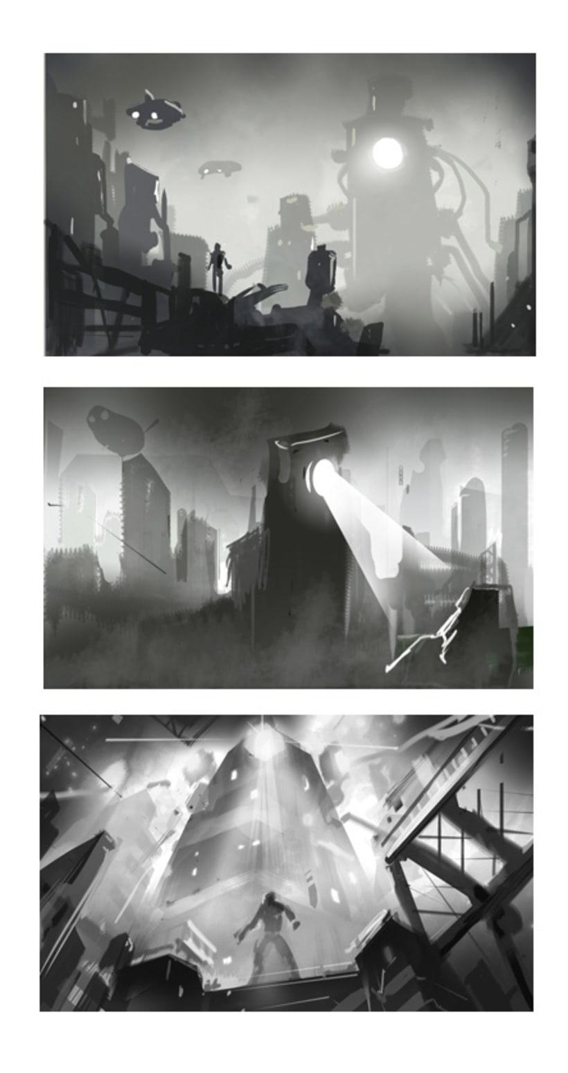 Mi Proyecto del curso: Iniciación al concept art: diseñando el futuro 1