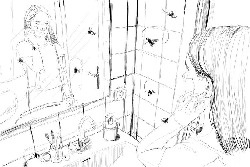"""Ilustración para el libro """"El futuro es femenino"""" Ed. Penguin Random House. Escrito por Sara Cano 8"""