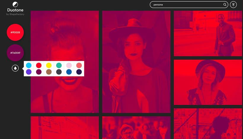 Duotone: imágenes duotono al instante 3