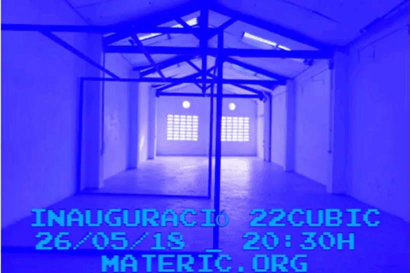 inauguración de las obras - obra de la residencia artística  22 cubic ESPACIO / OBJETO / CUERPO 2