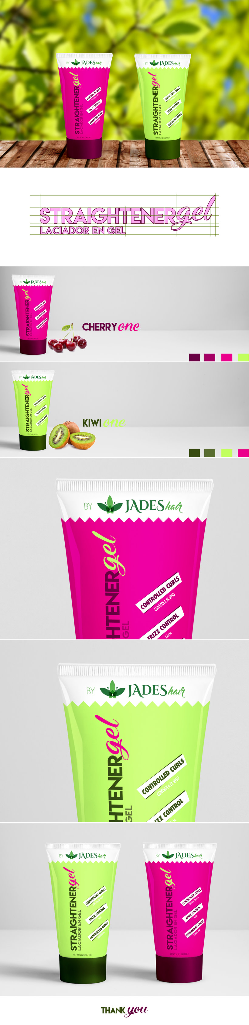 Stranightener Gel, Jades Hair -1