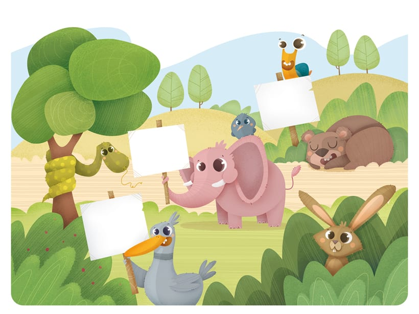Editorial Teide. Proyecto Minitribu. Ilustración infantil 4