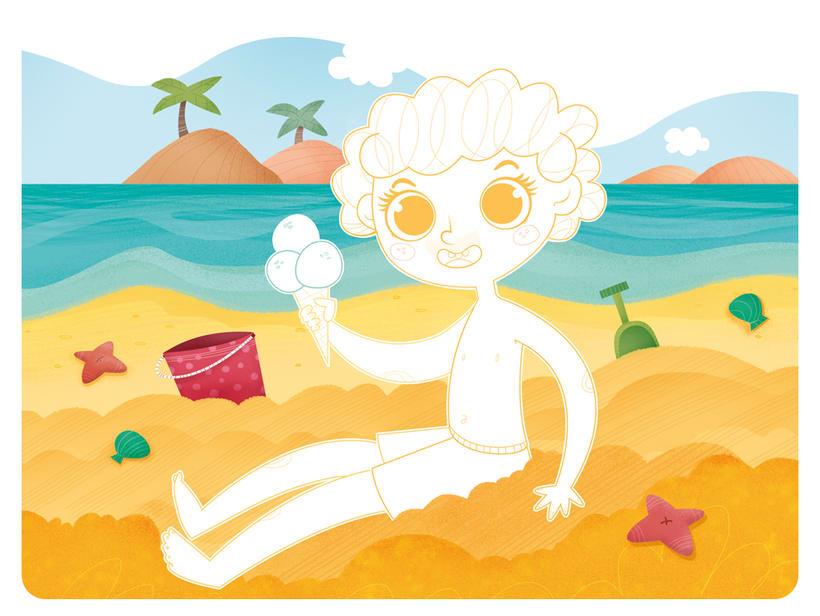 Editorial Teide. Proyecto Minitribu. Ilustración infantil 11